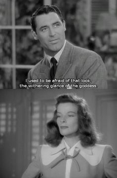 The Philadelphia Story - Cary Grant and Katherine Hepburn