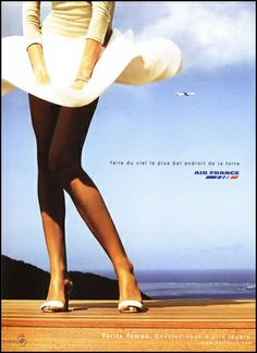 Affiche publicité Air France Jupe by louisvolant, via Flickr
