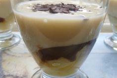crème dessert poire belle-hélène