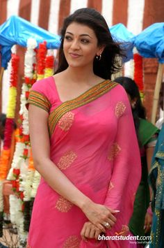 Kajal Agarwal Spicy Look In Pink Transparent Saree Photos Indian Actress Name, South Indian Actress, Indian Actresses, South Actress, Most Beautiful Indian Actress, Beautiful Actresses, Kajal Agarwal Saree, Celebrity Prom Dresses, Indian Heroine