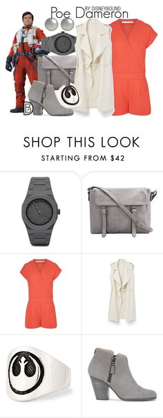 """""""Poe Dameron"""" by leslieakay ❤ liked on Polyvore featuring CC, MANGO, rag & bone, Kenneth Jay Lane, disney, disneybound, starwars and Maythe4thbewithyou"""