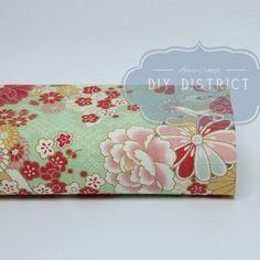 Tissu japonais coton Dobby fleurs.