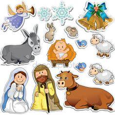 depositphotos_33635129-stock-illustration-nativity-scene-stickers.jpg (450×450)