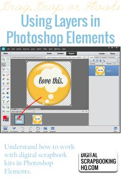 Drag and drop your images in Photoshop Elements - and have them stay the right size! http://www.digitalscrapbookinghq.com/dragdrop