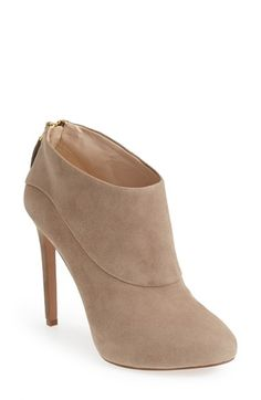 Free shipping and returns on Nine West Platform Bootie (Women) at Nordstrom.com. Give yourself a major style boost in these suede booties designed with a sky-high stiletto heel, almond toe and gleaming goldtone hardware.