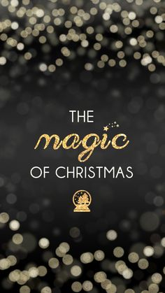 The Magic Of Christmas <3 (free iPhone 6 Christmas wallpapers)