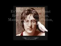 John Lennon song was more towards the government, telling the government to bring peace.