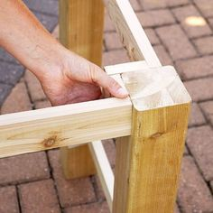 Easy Woodworking Plans Tips; An Introduction To Trouble-Free DIY Woodworking Methods - Milton Asher Diy Furniture Projects, Furniture Styles, Wood Projects, Dresser Furniture, Upcycled Furniture, Kids Furniture, Outdoor Projects, Outdoor Wood Table, Concrete Table