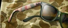 Urban Camouflage el nuevo estilo del Ray-Ban Wayfarer Ray Ban Wayfarer, Oakley Sunglasses, Camouflage, Ray Bans, Urban, Style, Lenses, Drive Way, Swag