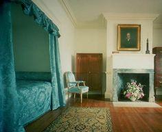 Monticello, alcove bed.