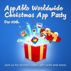 AppAble is giving away promo codes, gift cards & more for Speech Therapy Apps! Join their Facebook page today! www.facebook.com/appable and get a chance to win!