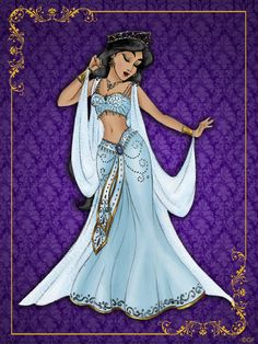 """série de ilustração """"Disney Queen Designer Collection""""."""