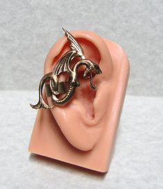 Fairy Tale Serpent Dragon Ear cuff