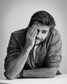 Liam Hemsworth by Jens Langkjaer for inStyle at The Toronto International Film Festival