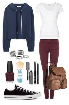 6 cute school outfits for teen girls - Find more ideas at school-outfits.com #school #college #girls #outfit #fashion