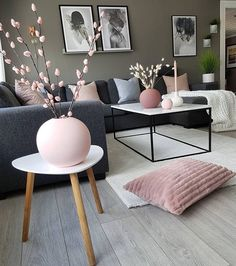 45 amazing gorgeous living room color schemes to make your room cozy 33 - Home D. 45 amazing gorgeous living room color schemes to make your room cozy 33 - Home Design Ideas Colourful Living Room, Boho Living Room, Beautiful Living Rooms, Living Room Grey, Small Living Rooms, Living Room Decor, Modern Living, Minimalist Living, Living Room Ideas Pink And Grey