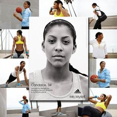 "Ladies this is for us! Meet Candace Parker. She is a WNBA player. Not just any player. In one year this woman was WNBA MVP, Rookie or the Year, an Olympic Gold Medalist, AP Female Athlete of the Year…and HAD A BABY! Ya, so she rocks a little. I doubt she ever said ""I can't do it"" Let her be your inspiration of the week! (month or year!!) Go Candace!!!! Making women proud everywhere."