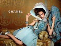 Tweed is back, Chanel Haute Cotour