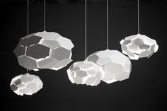 Thunderball pendant lighting (2014), by Richard Hutten for Gispen