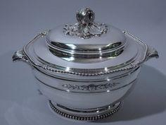 French 950 Silver Tureen Paris C 1900