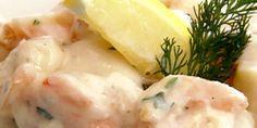 Shrimp and Scallops in Garlic Cream Sauce | Official Website for Chef Robert Irvine