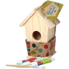 Scarlett's birthday, design your own birdhouse