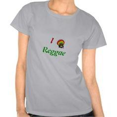 For all the lovers of Reggae Music. $23.05 #tshirts #shirt #fashion #apparel #clothes #ladies #reggae #Jamaica #Jamaican #BobMarley #female #zazzle #model #rasta