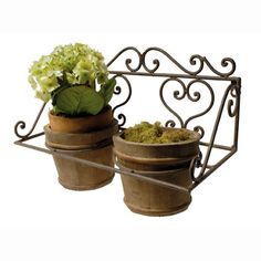 Double pot jardiniere French Country Style, French Country Decorating, Small Wooden Barrels, Classic Garden, Garden Accessories, Kitchen Redo, Planter Pots, Things To Come, Small Company