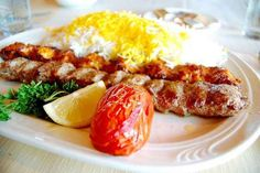 Chelo Kabab | 20 Persian Foods To Blow Your Taste Buds Away I love this meal! Would love to have it for dinner!
