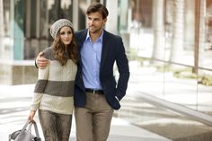 A winter stroll with Olivia Palermo and Johannes Huebl - Otto ...