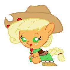 Baby Applejack's Gala Dress by Beavernator.deviantart.com on @deviantART