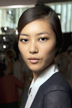 Liu Wen's whole style. She's the first Asian (Chinese) model to walk the VS runway :)