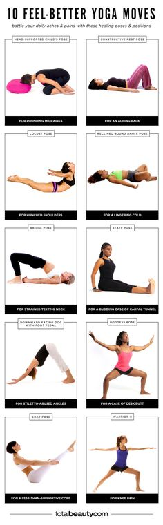 10 Feel-Better Yoga Moves