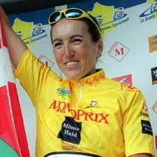 Joane Somarriba Arrola (born August 11, 1972 in Gernika, Biscay) is a former cyclist. She won the Grande Boucle, at the time the most prestigious stage race for women, in 2000, 2001 and 2003. She also achieved a time trial victory at the 2003 World Championships in Hamilton, Canada. Additionally, she was a time trial silver medallist at the 2005 World Championships in Madrid and took a road race bronze medal at the 2002 World Championships in Zolder/Hasselt, Belgium.