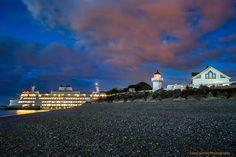 West Point lighthouse - Washington
