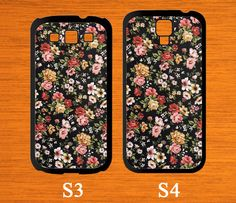 Samsung Galaxy S5 case Flowers case for Samsung Phone by CaseGift