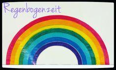 Für jeden Tag, an dem die Klassenregeln eingehalten werden, kommt ein farbiger Bogen an das Whiteboard. Ist der ganze Regenbogen voll, hat sich die Klasse eine #regenbogenzeit verdient! Diese Zeit ist 15-20 Minuten lang, wo sie frei spielen oder nach draussen gehen können. Funktioniert super, die Kinder lieben ihre Regenbogenzeit!