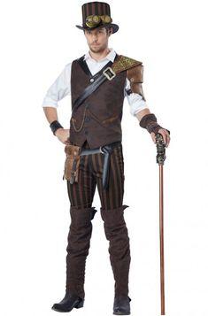 Steampunk Adventurer Adult Costume #Halloween #costumes #steampunk