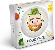 Making dinner time fun! Fred Food Face Kid's Dinner Plate