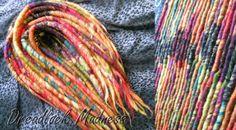 #dreads #dreadlocks #wool #roving #fairy #ozora #burning #man #boho #hippie