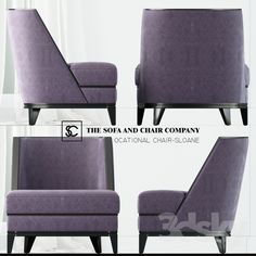 THE SOFA AND CHAIR COMPANY - SLOANE