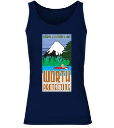 If you love the US National Parks and Forest Services, and want to keep them protected, this National Parks T Shirt is perfect for you, and the perfect gift for someone who loves the outdoors, resists alternative facts, supports Alt US National Park workers, and wants to preserve the environment for present and future generations.          TIP: If you buy 2 or more (hint: make a gift for someone or team up) you'll save quite a lot on shipping.       Guaranteed safe and secure checkou...