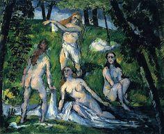 Paul Cézanne's Bathers, 1877-1878