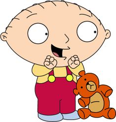 and his trusted teddy bear, Rupert. Family Guy Funny, Family Guy Quotes, Family Guy Stewie, Cartoon Memes, Cartoon Characters, The Simpsons Guy, 2000s Kids Shows, Griffin Family, Graffiti