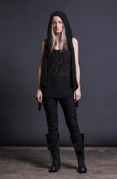 NIX VEST by MORPH KNITWEAR now at SISTERS OF THE BLACK MOON http://www.sistersoftheblackmoon.com/sotbm/products-page/shop-sotbm/nix-vest/