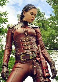 Steampunk and leather