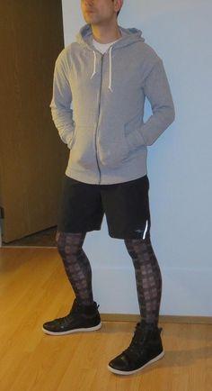 Tights Outfit, Leggings Fashion, New Fashion, Fashion Menswear, Street Fashion, Mens Leotard, In Pantyhose, Nylons, Mens Tights
