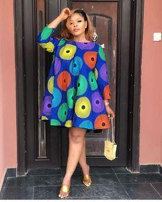 African maternity dresses - short ankara dress designs for ladies Short African Dresses, Ankara Short Gown Styles, Latest African Fashion Dresses, African Print Dresses, African Print Fashion, Ankara Gowns, Ankara Dress Designs, African Print Dress Designs, African Design