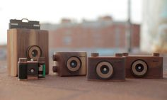 The 35mm Pinhole Camera by NOPO uses a no-lens photographic technique that combines light and time to capture a unique image.