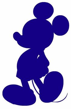 Mickey Mouse.Silueta
